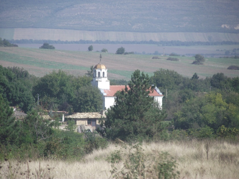 My Village church - the center-piece of the community.